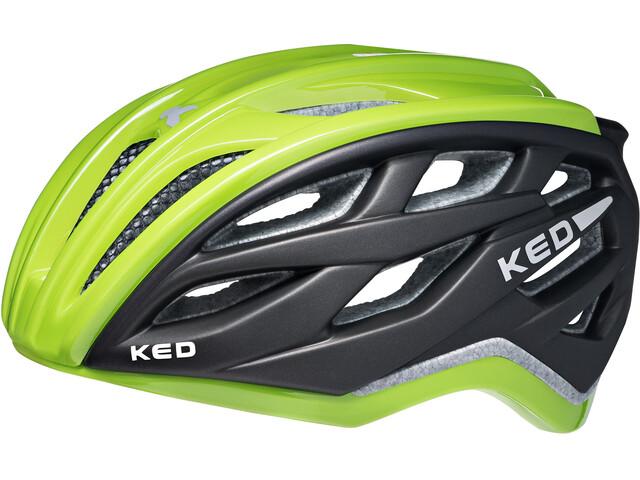 KED Xant Helmet Green Black
